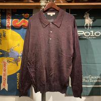 PRONTO-UOMO half button shirt  (L)
