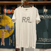 RRL logo made in USA tee (L)