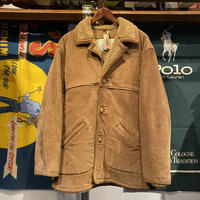 SEAHOP boa leather jacket (L)