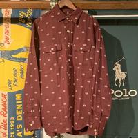 OLD NAVY native pattern cotton shirt (L)
