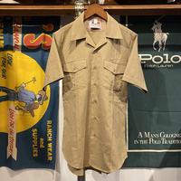 Flying Cross double pocket open collar S/S shirt
