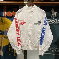 KING LOUIE print light bomber jacket (S)