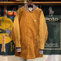 adidas trefoil logo corduroy jacket (XO)