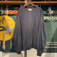 CUTTER & BUCK low gauge fisherman knit (L)