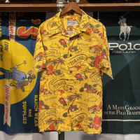 【web限定】Ted Company hawaiian print aloha shirt (XL)