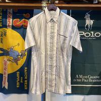 PAGELO logo stripe S/S shirt (M)