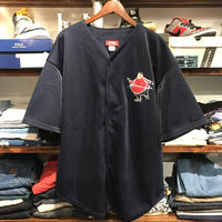 "【Deadstock】FUBU PLANTINUM ""FAT ALBERT"" baseball shirt"