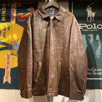 NAUTICA leather swing top jacket (2XL)