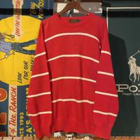 Eddie Bauer border knit sweater (M)