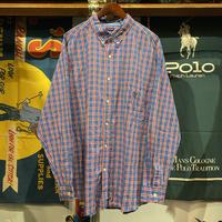 CHAPS check shirt (2XL)