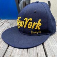 "HIDETRADING ""New York"" snapback cap"