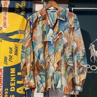 GRAN JOUE abstract light poly shirt (M)