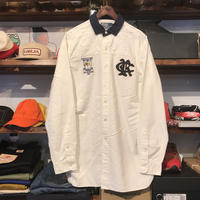 POLO RALPH LAUREN RL ATHLETIC wappen shirt (M)