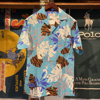 SUNMARI FASHIONS made in hawaii aloha shirt (M)