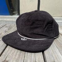 adidas trefoil logo corduroy adjuster cap