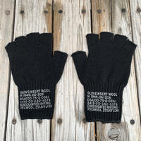 Millitary Army Fingerless gloves (Black)