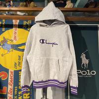 Champion reverse weave logo sweat hoodie (L)