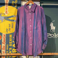 AVENUE iridescent silk shirt