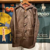PRANKSH leather toggle coat