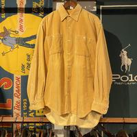 【web限定】Wrangler corduroy shirt (L)