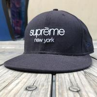 Supreme  Newera classic logo cap(7 3/8)