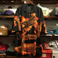 Mecca dragon pattern shirt (XL)