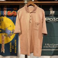 SPEALD collar ktnit cotton polo shirt (L)