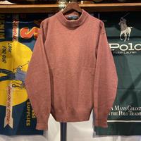FINE WOOLS SPUN lamb wool knit sweater (L)