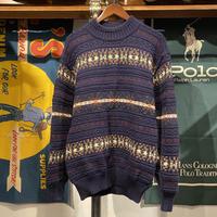 Rio Brothers Stripe knit sweater (M)