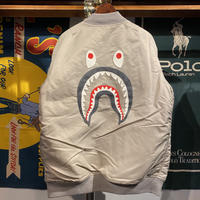 A BATHING APE SHARK MA-1 (XL)