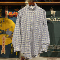 Brooks Brothers cotto check shirt (M)