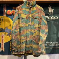 no-label military camo half-zip jacket