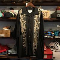 BAMBOO CAY Bamboo pattern shirt (XXL)