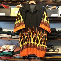 FERUGINI fire pattern S/S shirt (2XL)