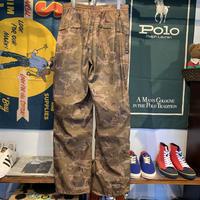 REQUEST JEANS camo nylon pants (30)