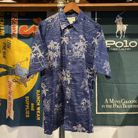 Cook Street island print aloha shirt (L)
