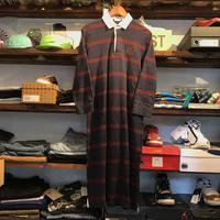 POLO RALPH LAUREN horizontal striped dress (L)