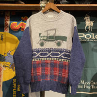 UNITED COLORS OF BENETTON native pattern sweater