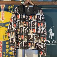 "【web限定】ZION ""Bob Marley"" Photo Print poly Hoody (M)"