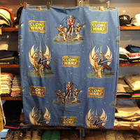 "STAR WARS ""CLONE WARS""  full flat sheet"