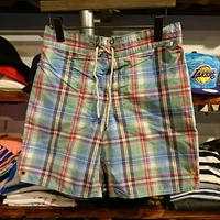"POLO RALPH LAUREN ""Madras check""swim shorts"