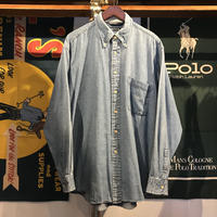 Nautica denim shirt (L)