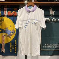 Dalmin print polo shirt (L)