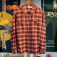 Classic Elements Flannel Zip Front Shirt Jacket(XL)