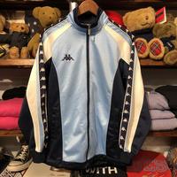 Kappa sleeve line logo full zip jersey (M)