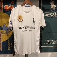"POLO RALPH LAUREN ""BLACK WATCH""  POLO team shirt (L)"
