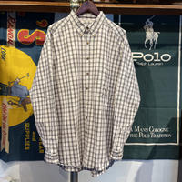 Eddie Bauer cotton check shirt (XL)