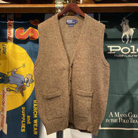POLO RALPH LAUREN wool knit vest (L)