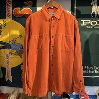 POLO SPORT corduroy pocket  shirt (L)