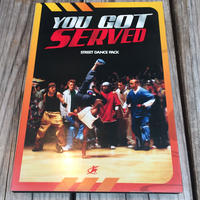 YOU GOT SERVED STREET DANCE PACK DVD 2枚組